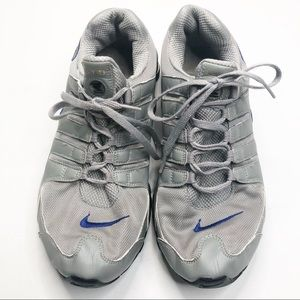 Nike ID Shox Gray Sneakers